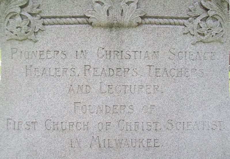 Dr. Silas J. Sawyer and Jennie E. Sawyer Marker image. Click for full size.