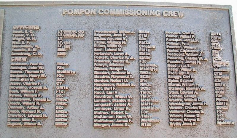 U.S.S. Pompon (SS 267) Crew image. Click for full size.
