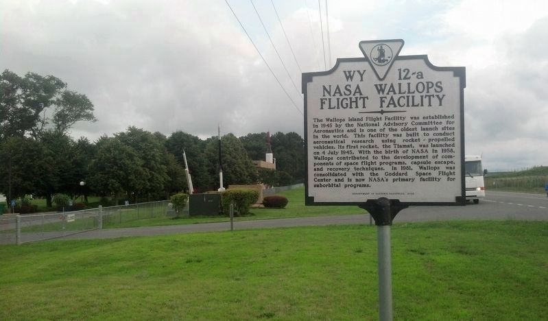 NASA Wallops Flight Facility Marker image. Click for full size.