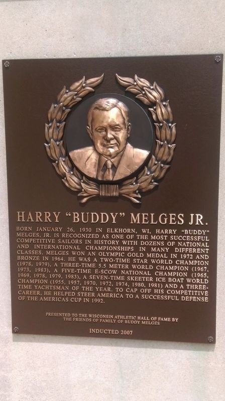 "Harry ""Buddy"" Melges Jr. Marker image. Click for full size."