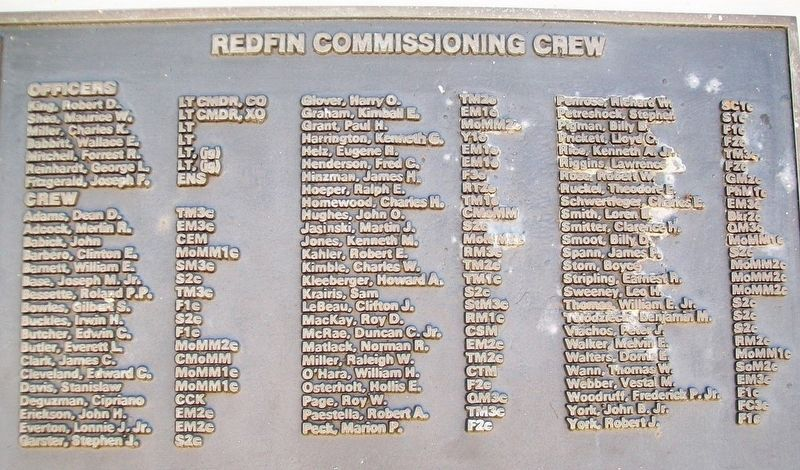 U.S.S. Redfin (SS 272) Crew image. Click for full size.