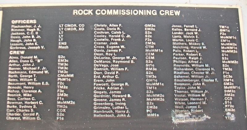 U.S.S. Rock (SS 274) Crew image. Click for full size.