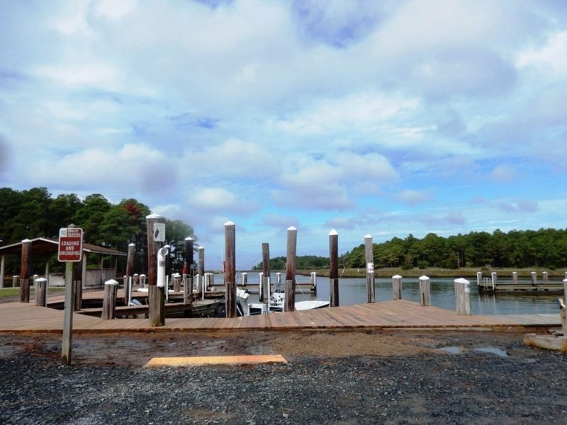 Janes Island State Park boat dock image. Click for full size.