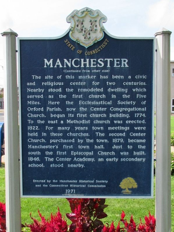 Manchester Marker image. Click for full size.