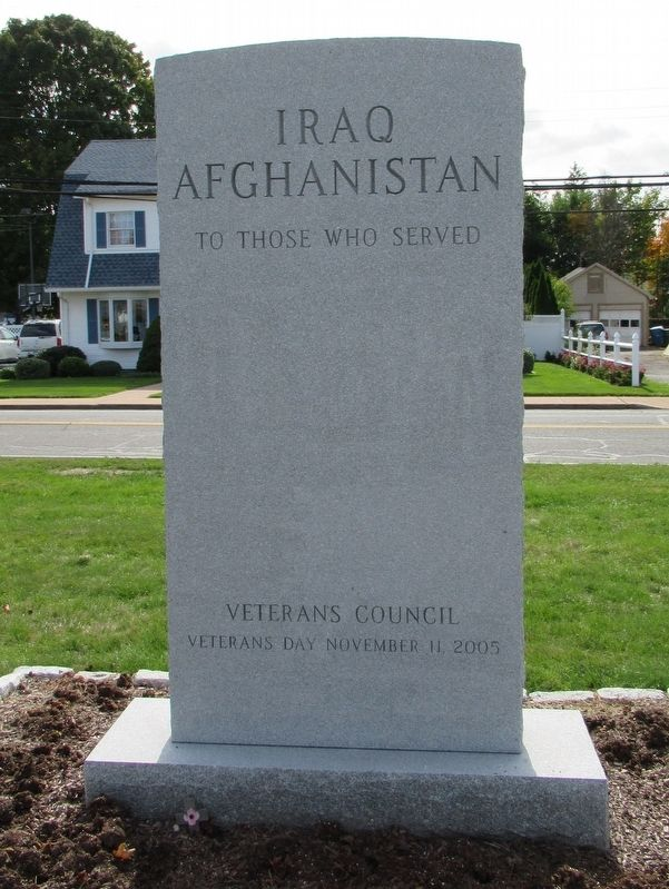 Manchester Iraq Afghanistan Veterans Monument image. Click for full size.