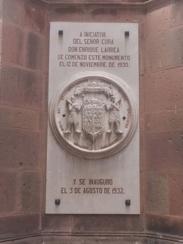 Monument to Jos� Diez de Sollano y D�valos Marker image. Click for full size.