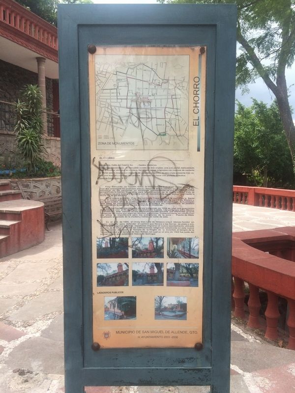 An additional marker on the early history of San Miguel de Allende image. Click for full size.