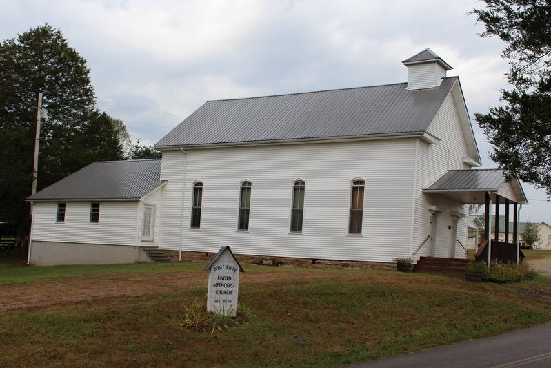 Wolf River Methodist Church image. Click for full size.