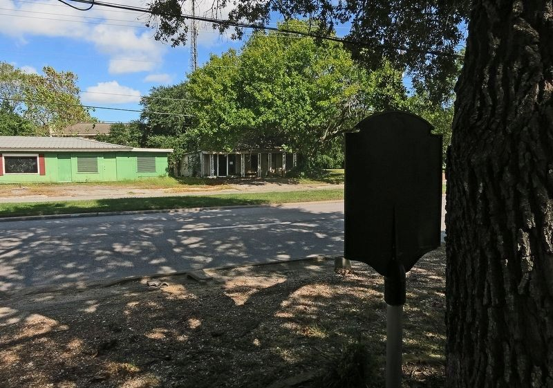 Wide View of First Business Marker Taken From the Back image. Click for full size.