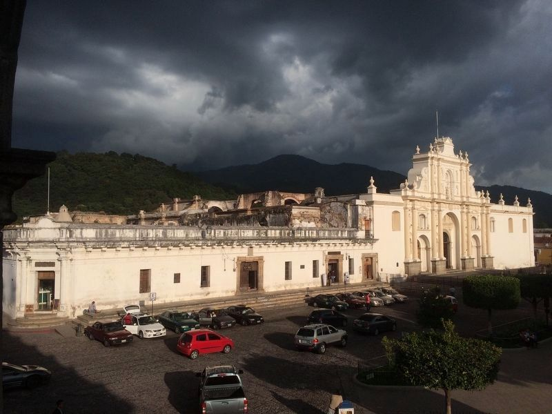 The Cathedral of Antigua Guatemala image. Click for full size.