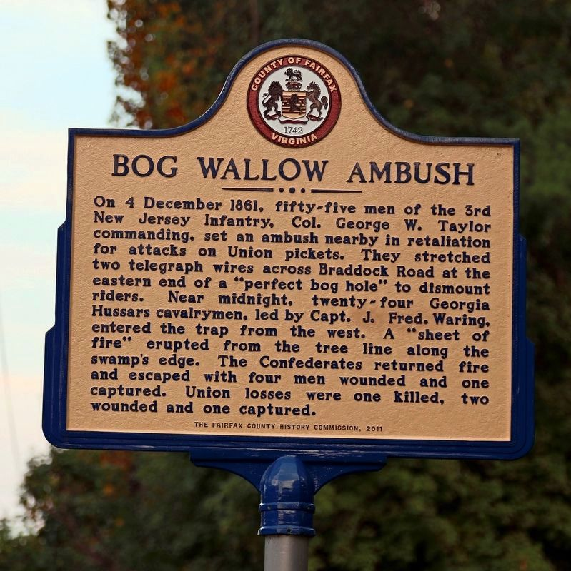 Bog Wallow Ambush Marker image. Click for full size.