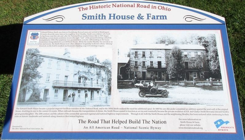 Smith House & Farm Marker image. Click for full size.