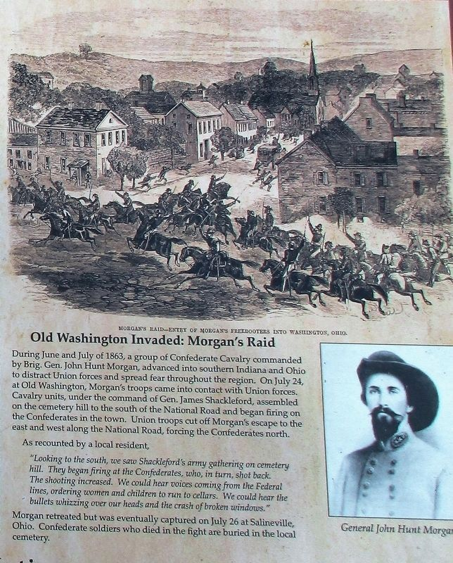 Old Washington Marker image. Click for full size.