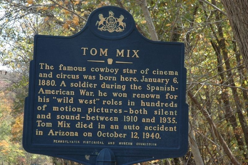 Tom Mix Marker image. Click for full size.