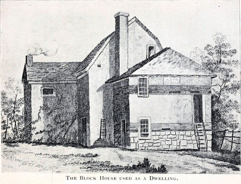 The Blockhouse Used as a Dwelling image. Click for full size.