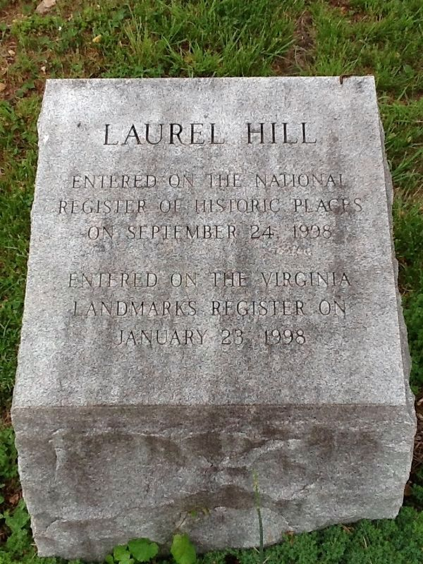 Laurel Hill Stone Marker image. Click for full size.