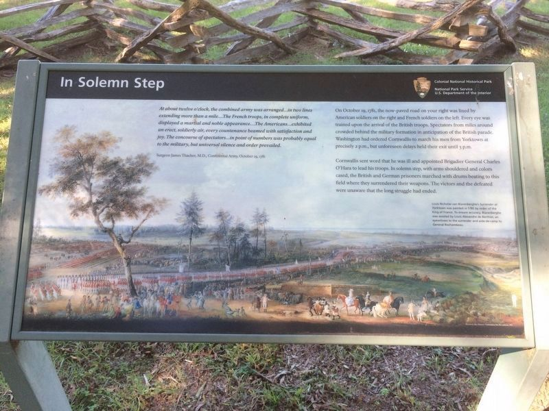 In Solemn Step Marker image. Click for full size.