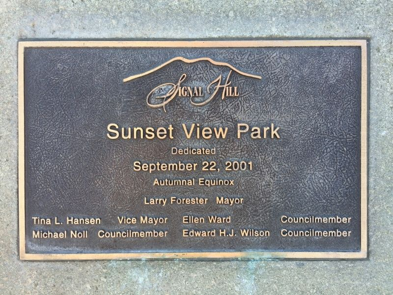 Sunset View Park image. Click for full size.