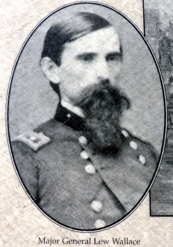 Major General Lew Wallace image. Click for full size.