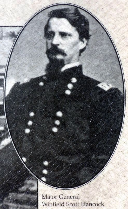 Major General Winfield Scott Hancock image. Click for full size.