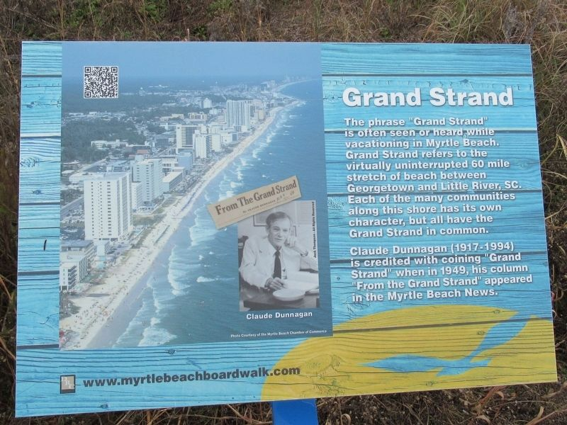 Grand Strand Marker image. Click for full size.