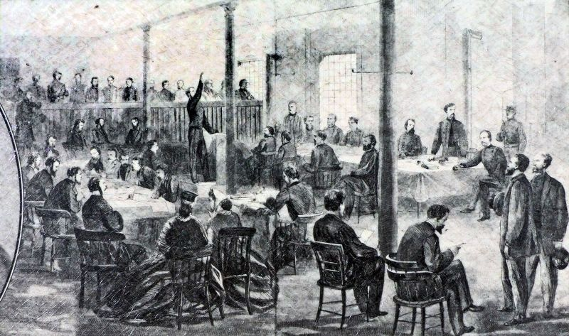In the Courtroom image. Click for full size.