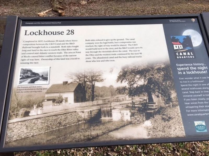 Lockhouse 28 Marker image. Click for full size.