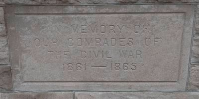 Bandstand Inscription image. Click for full size.