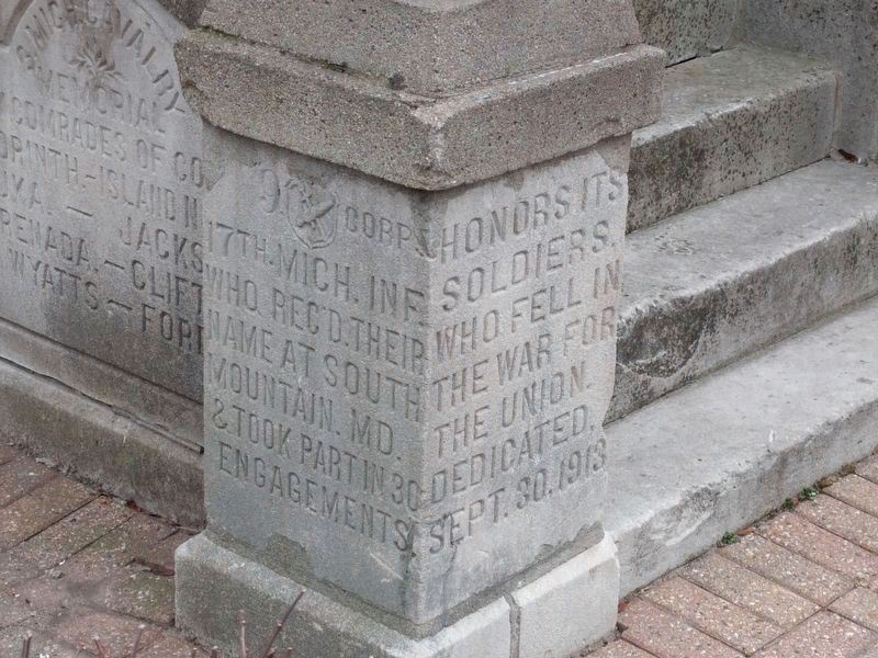 Bandstand Inscriptions image. Click for full size.