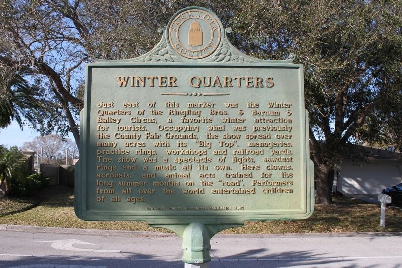 Winter Quarters Marker Side 2 image. Click for full size.