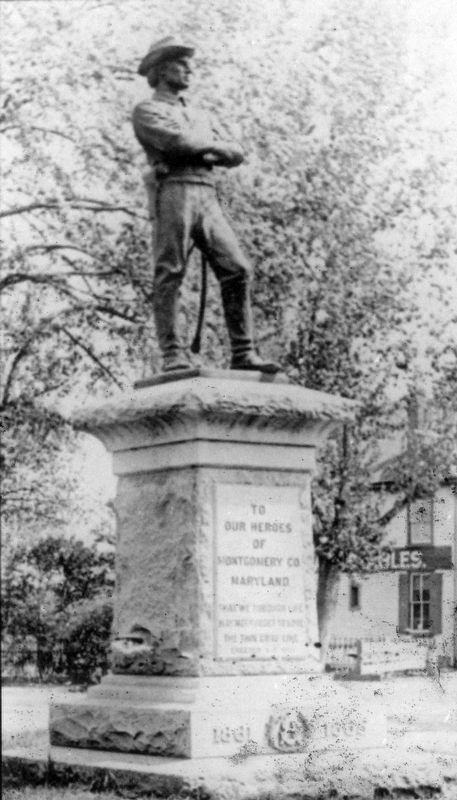 Confederate Monument image. Click for full size.