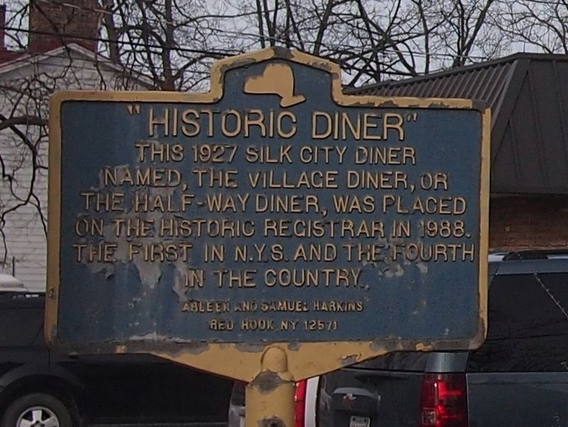 Historic Diner Marker image. Click for full size.