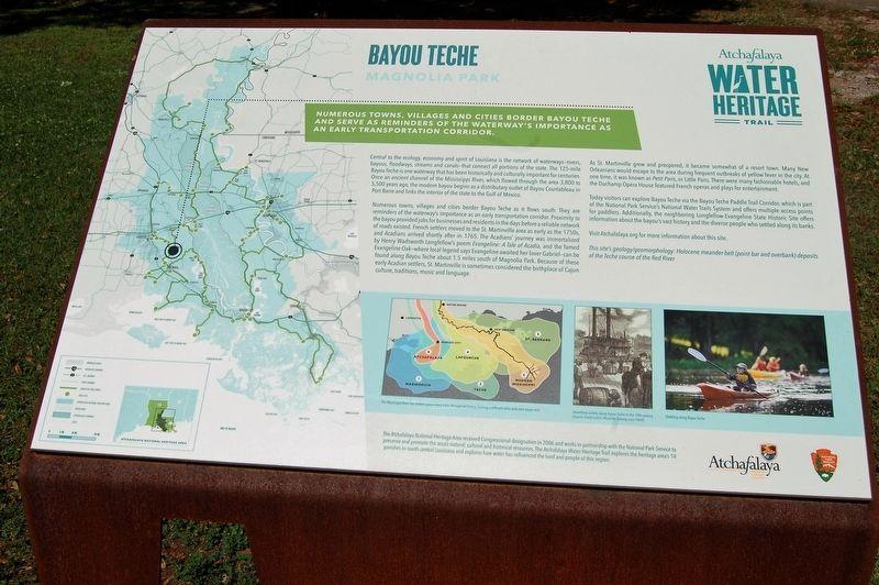 Bayou Teche Historical Marker