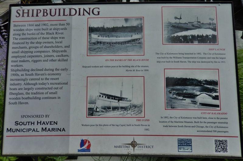 Shipbuilding Historical Marker