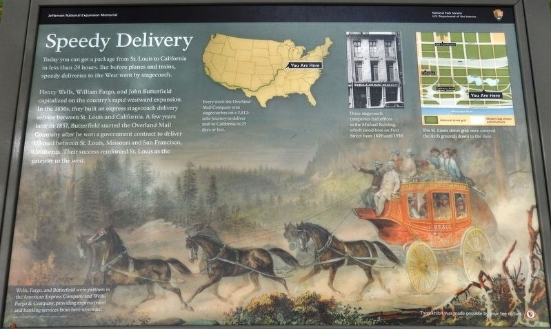 Speedy Delivery Historical Marker