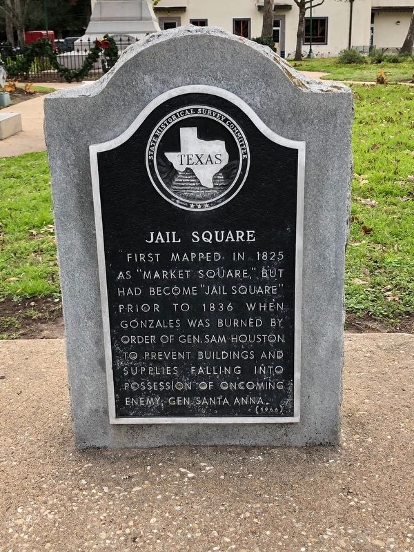Jail Square Historical Marker