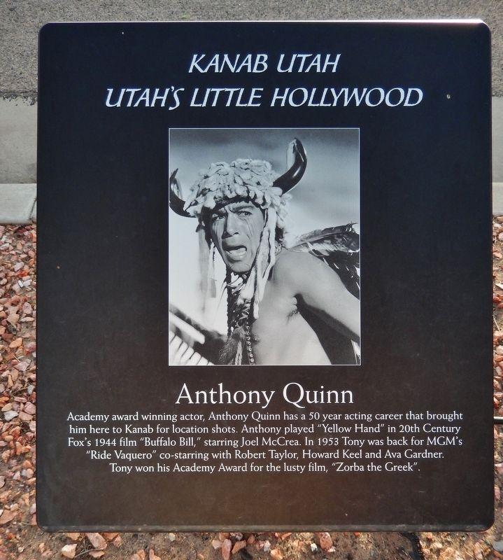 Anthony Quinn Historical Marker