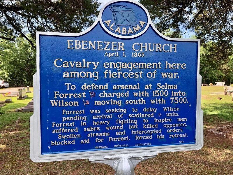Ebenezer Church Historical Marker