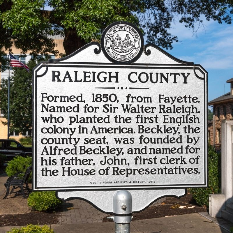 Raleigh County Historical Marker