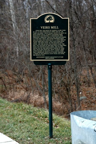 Veirs Mill Marker image. Click for full size.