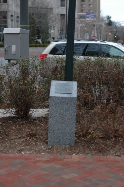 Five Points, Historic Crossroads Marker image. Click for full size.