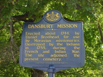 Dansbury Mission Marker image. Click for full size.