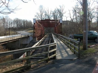 Bollman Iron Truss Bridge image. Click for full size.