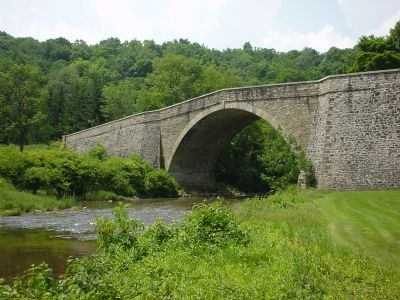 The Casselman Bridge image. Click for full size.