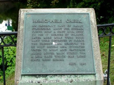 McMichaels Creek Marker image. Click for full size.