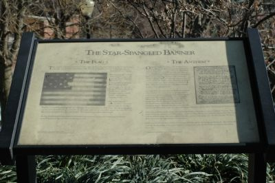 The Star-Spangled Banner Marker image. Click for full size.