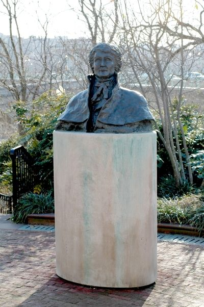 Bust of Francis Scott Key image. Click for full size.
