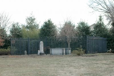Calvert Family Cemetery image. Click for full size.