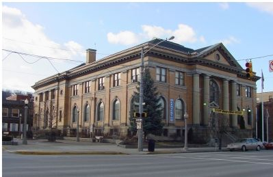 The Carnegie Library image. Click for full size.