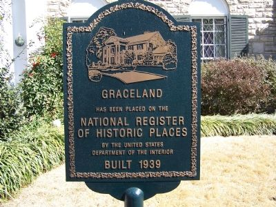 Graceland Marker image. Click for full size.